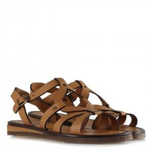 Günlük Bayan Sandalet Taba Rengi