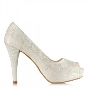 Nikah Ayakkabısı Osmanlı Desen 17 Pont