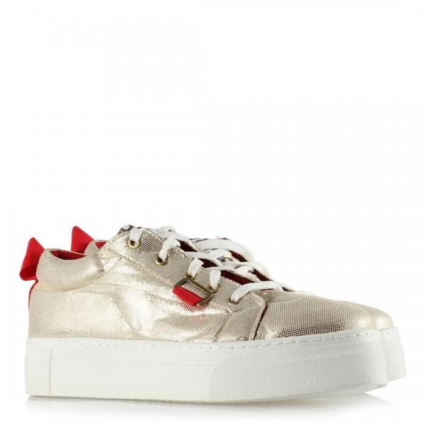 Spor Ayakkabı Dore Yaldızlı