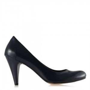 Casual Bayan Ayakkabı Lacivert Rugan