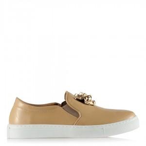 Vans Ayakkabı Vizon  Rugan