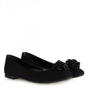 Siyah Babet Tokalı Model Sade