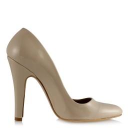 Kadın Stiletto Ten Rugan Ayakkabı