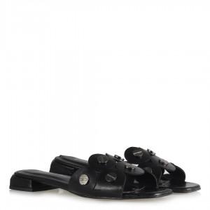 Siyah Terlik Zımbalı Yuvarlak