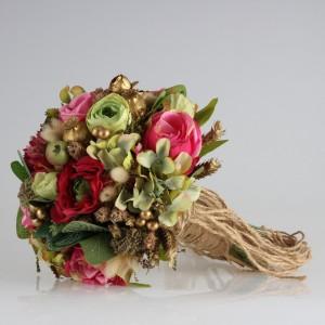 Gelin Çiçeği Renkli Tasarım