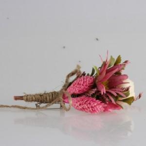 Damat Yaka Çiçeği Pembe Çiçekler