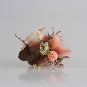 Damat Yaka Çiçeği Somon Kuru Çiçekler