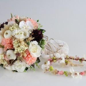 Gelin Buketi Tacı Yaka Çiçeği Tasarım Model