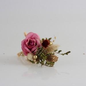 Damat Yaka Çiçeği Gül Kurusu