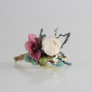Damat Yaka Çiçeği Pastel Kuru Çiçekler