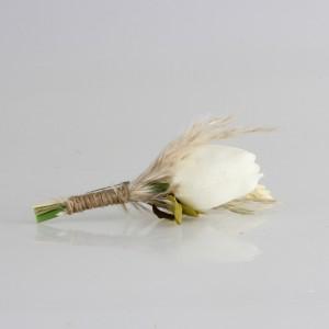 Damat Yaka Çiçeği Kırık Beyaz Lale
