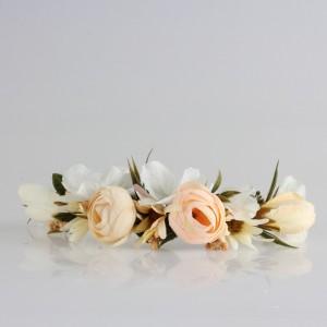 Gelin Saç Tokası Damat Yaka Çiçeği Soft Renkler Tasarım