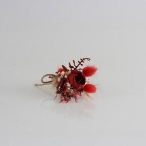 Damat Yaka Çiçeği Egzotik Tasarım