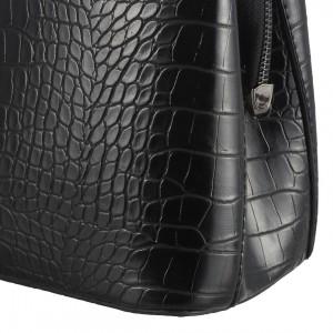 Siyah Crocodile Bayan Çanta