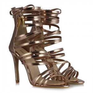 Topuklu Ayakkabı Bakır Renk
