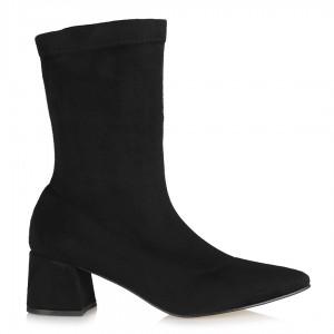Çorap Bot Siyah Süet