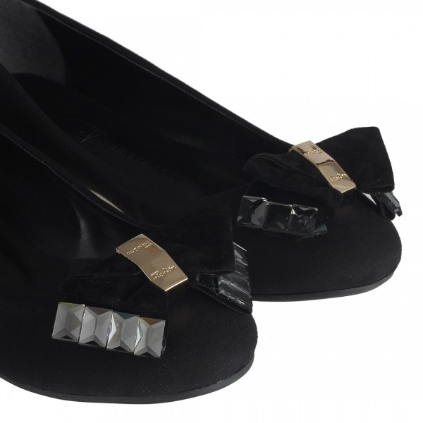 Siyah Babet Tokalı Model