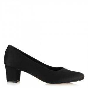 Topuklu Ayakkabı Casual Siyah Az Topuklu