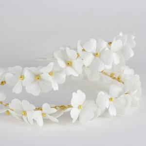 Gelin Tacı Kırık Beyaz Bahar Çiçekleri