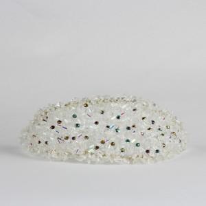Gelin Tacı El Yapımı Kristal Taşlar