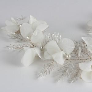 Gelin Saç Tokası Bahar Çiçekler