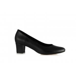 Casual Topuklu Ayakkabı Siyah Mat