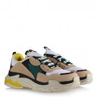 Sneakers Spor Ayakkabı Renkli Vizon Yeşil