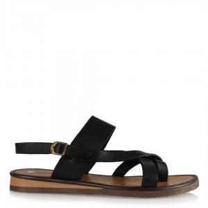 Sandalet Siyah Parmak Arası Çapraz