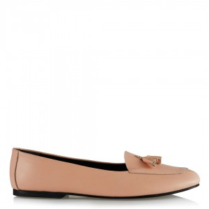 Babet Ayakkabı Hakiki Deri Somon Rengi