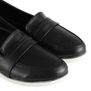 Loafer Düz Ayakkabı Siyah