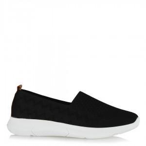 Spor Streç Ayakkabı Siyah