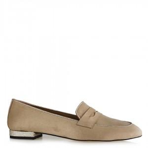 Loafer Ayakkabı Ten Süet