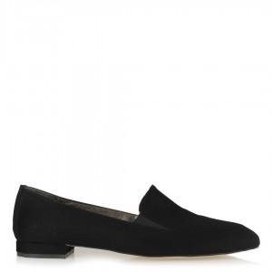 Siyah Loafer Lastikli Ayakkabı