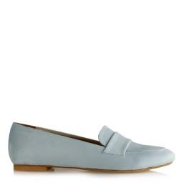 Babet Ayakkabı Bebe Mavisi Süet