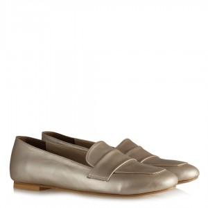 Babet Ayakkabı Altın Rengi