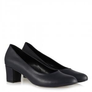 Casual Topuklu Ayakkabı Lacivert