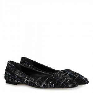 Babet Ayakkabı Tweet Renkli Kumaş