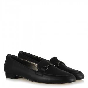 Zincirli Loafer Ayakkabı Siyah