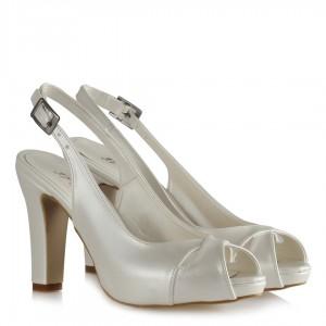 Nikah Ayakkabısı Çapraz Arkası Açık