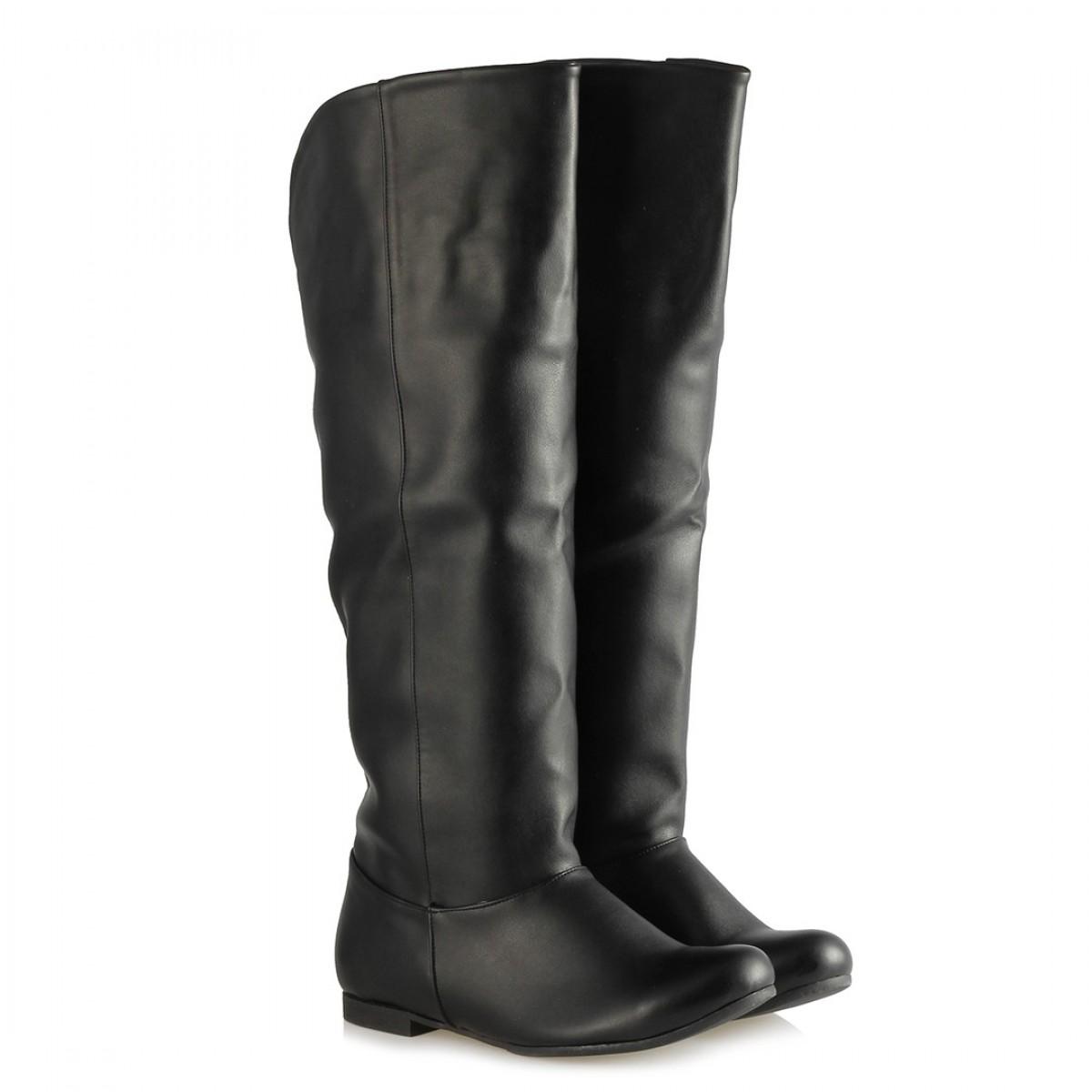 Siyah Renk Bayan Çizme Modelleri