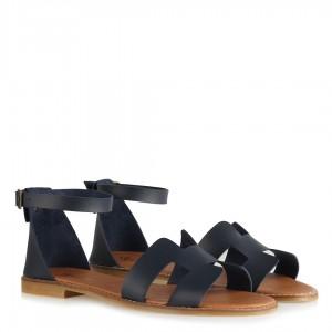Sandalet Lacivert H Model