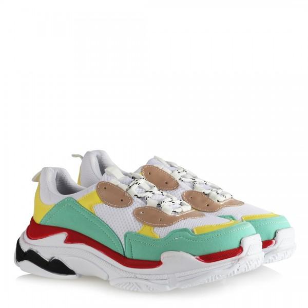 Sneakers Modeli Renkli Spor