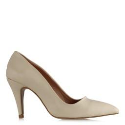 Bej Rengi Stiletto Ayakkabı