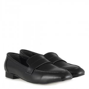 Loafer Düz Ayakkabı Siyah Mat