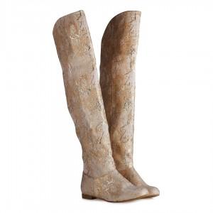 Binici Çizme Dore Desenli