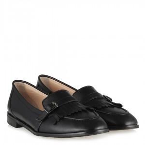 Hakiki Deri Püsküllü Loafer Ayakkabı