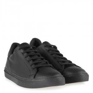 Siyah Spor Ayakkabı Bağcıklı