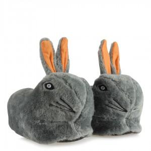 Panduf Terlik Gri Tavşan