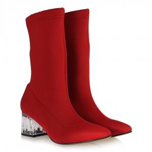 Kırmızı Balıkçı  Çorap Bot