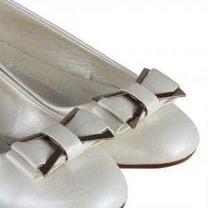 Gelin Babeti Tokalı Kırık Beyaz